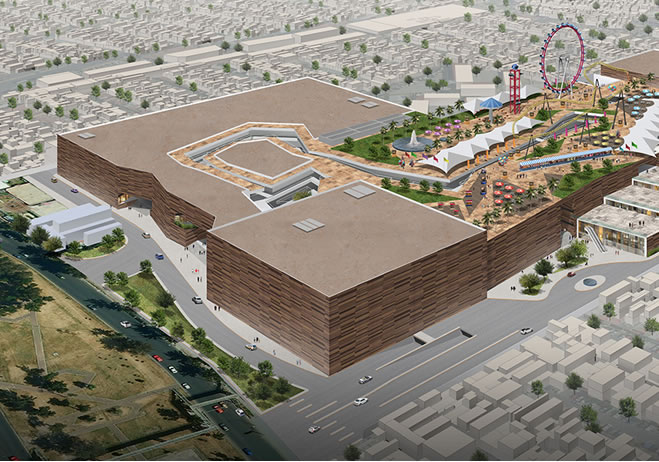 parque las antenas20160205111149 - México tendrá 5 mega centros comerciales en el 2018