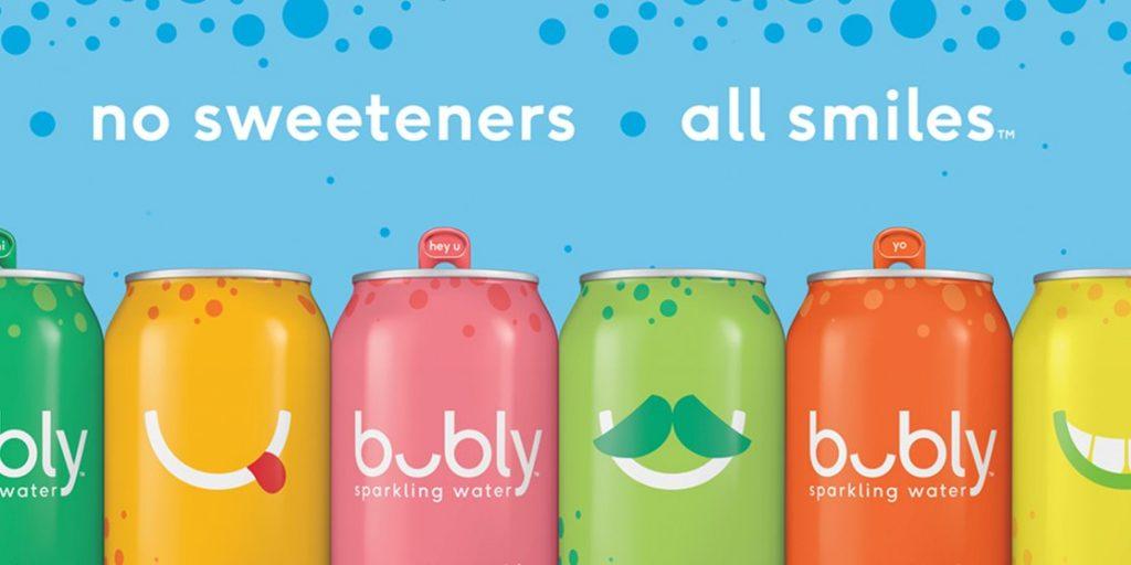 pepsi bubly 2 1024x512 - PepsiCo lanza su nueva marca de agua con gas 'Bubly'