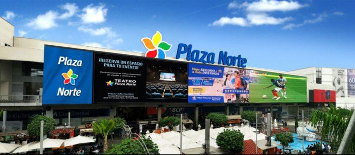 peru led 1 main - Perú: Plaza Norte presenta la pantalla LED más grande de Sudamérica