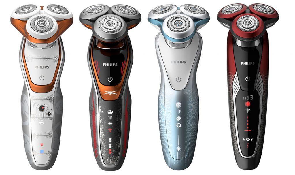 philips afeitadoras star wars - Philips lanza nueva colección de afeitadoras inspiradas en Star Wars