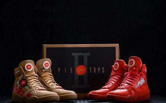 pie tops ii - Regresan las zapatillas creadas por Pizza Hut que sirven para hacer pedidos