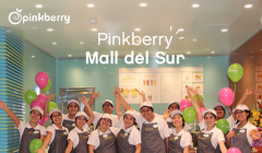 pinkberry mall del sur 240x140 - Pinkberry abre local en Mall del Sur