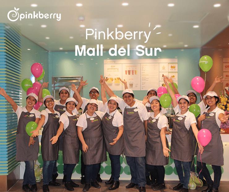 pinkberry mall del sur - Pinkberry abre local en Mall del Sur