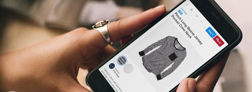 pinterest buy online - Diez tendencias de la transformación digital del retail