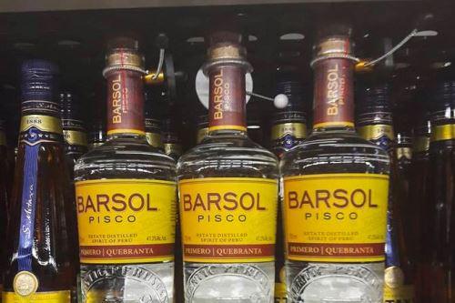 pisco barsol - Pisco ya se vende en supermercados de Rusia