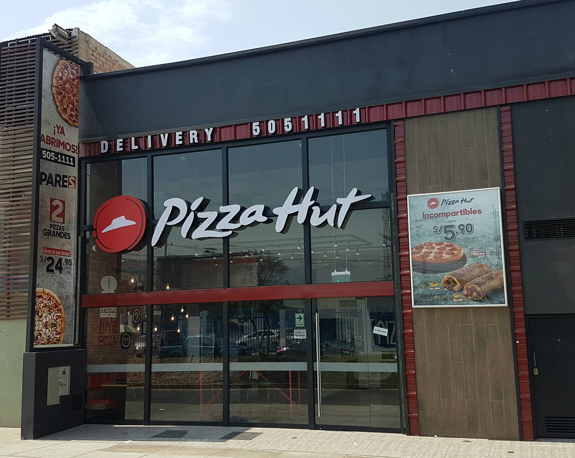 Pizza Hut Opera 89 Restaurantes En El Per 250