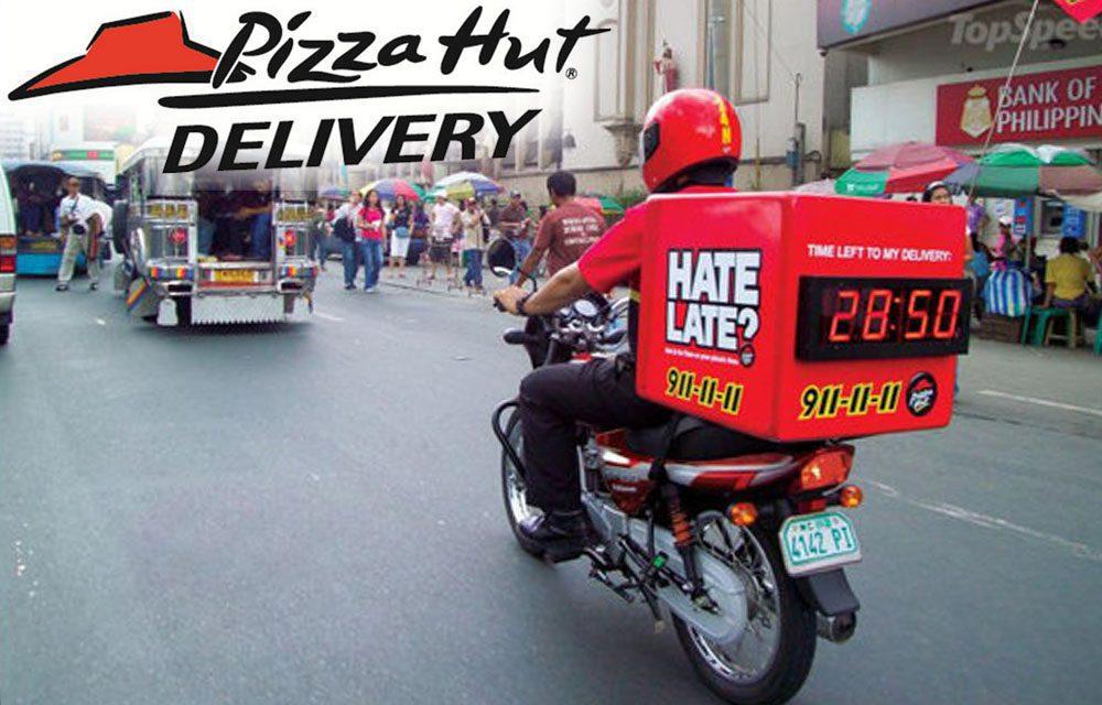 pizza hut delivery 911 - Pizza Hut recurre a las bebidas alcohólicas para impulsar sus ventas