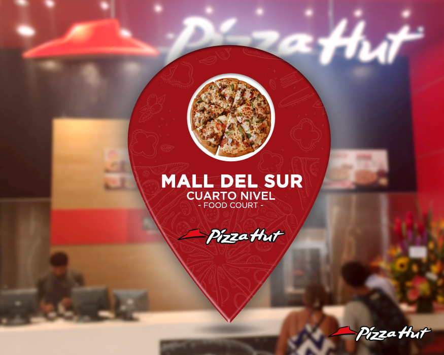pizza hut mall del sur