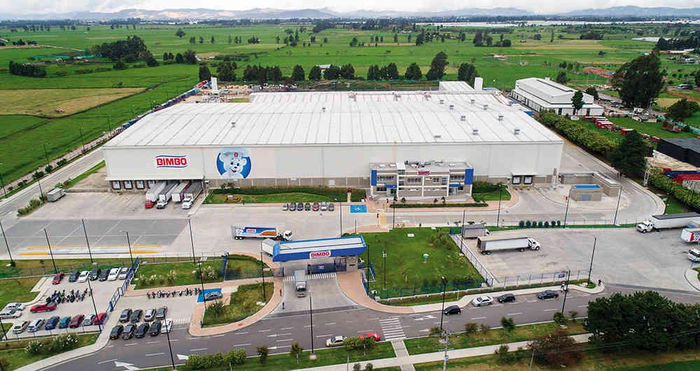 planta de producción bimbo colombia - Bimbo abrió su nueva planta en Colombia donde producirá dos líneas de snacks