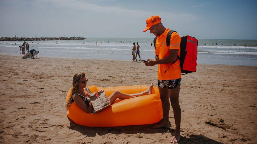 playas rappi - Los negocios que se expanden por verano en las playas del sur de Lima