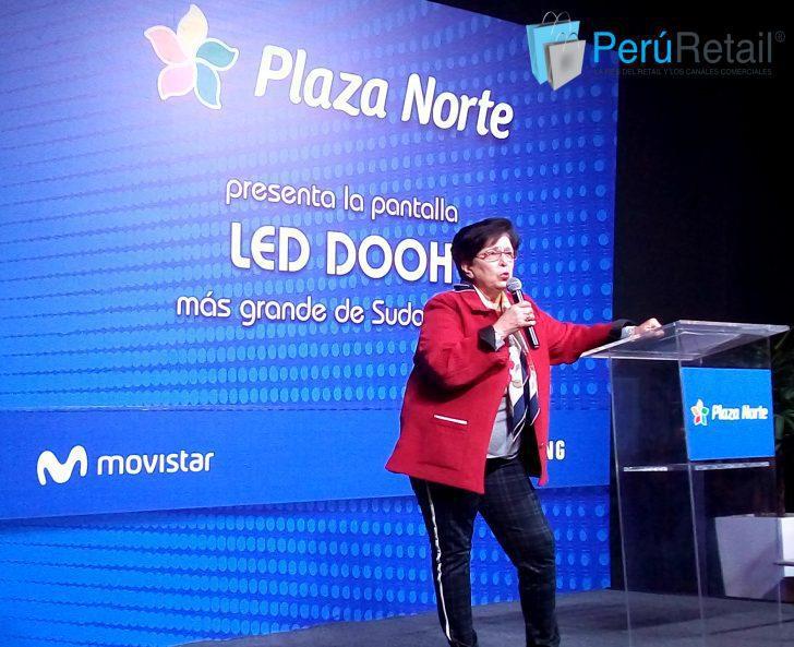 plaza norte 2 peru retail e1537069359351 - Perú: Plaza Norte presenta la pantalla LED más grande de Sudamérica