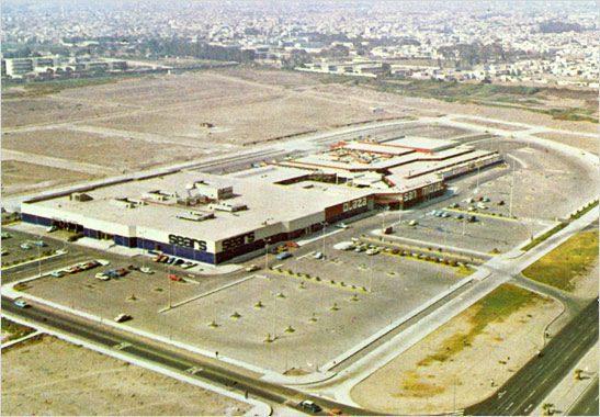 plaza san miguel en sus inicio - Perú Retail