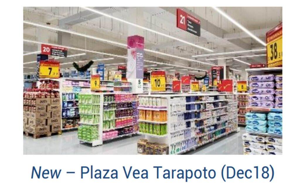 plaza vea Tarapoto 1024x639 - Estas son las nuevas aperturas que Plaza Vea alista en los próximos años