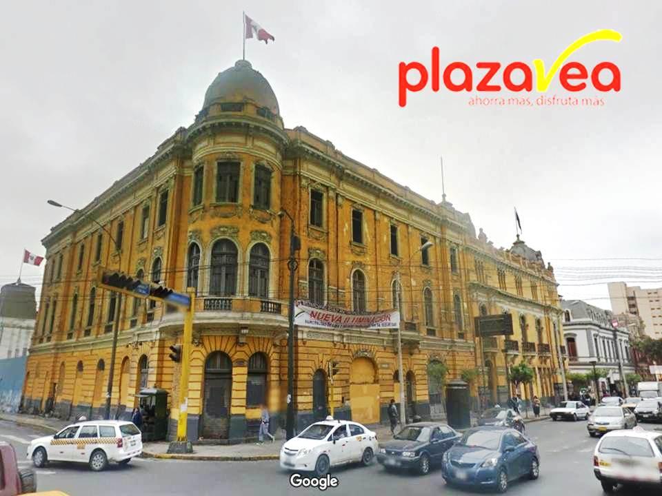 plaza vea lima centro 2017 - Plaza Vea abrirá un supermercado en el corazón del Cercado de Lima