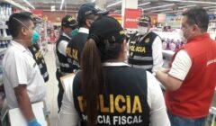 plaza vea policia