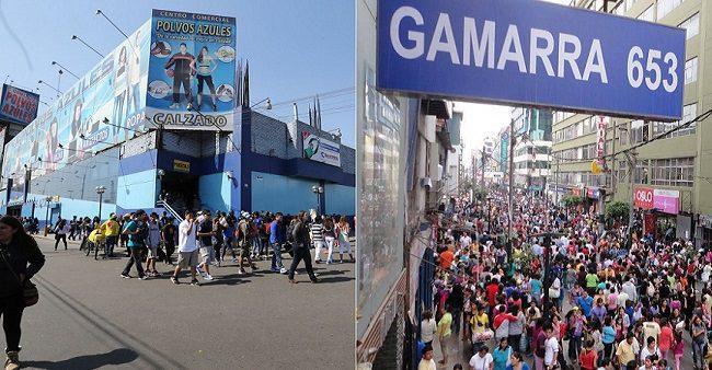 polvos azules gamarra - Las galerías comerciales se mantienen en el gusto del público peruano