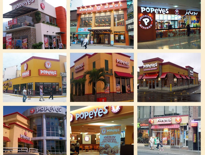 popeyes locales