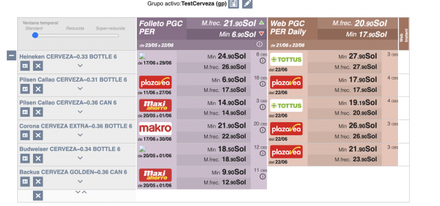 precios - pricing Screenshot 2021-06-22