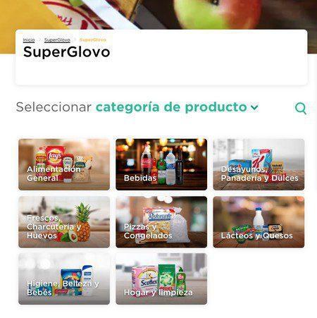 productos glovo - Va por más: Glovo entregará pedidos de supermercado en 15 minutos