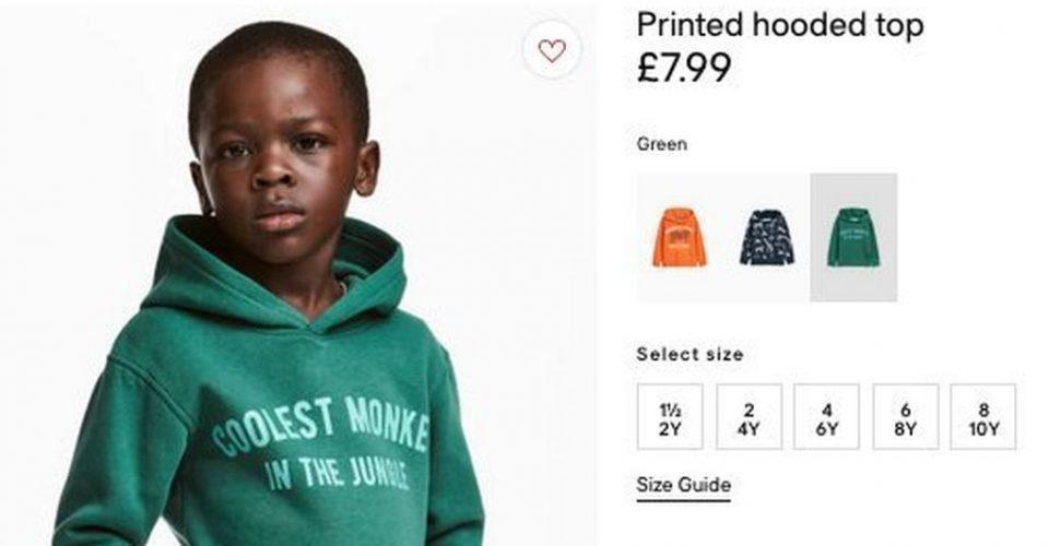 publicidad racista HM - H&M crea puesto directivo de diversidad e inclusión, tras polémica racista