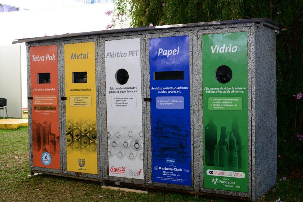 puntos de reciclaje - Perú: Puntos de reciclaje en Plaza Vea y Vivanda acumularon las primeras 1.000 toneladas de residuos sólidos