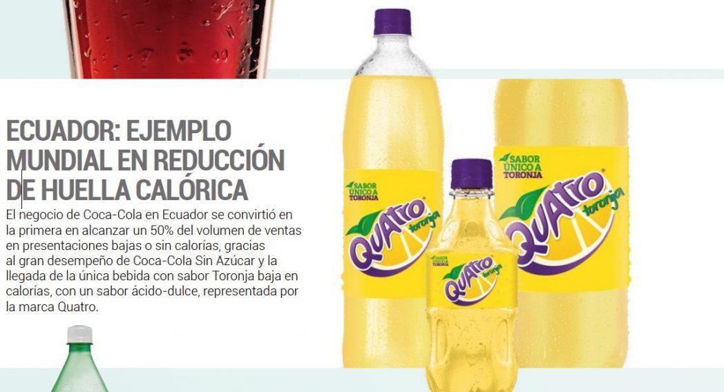 quatro bebida ecuador - Ecuador: Arca Continental se diversifica con Tonicorp