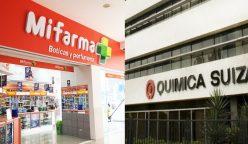 quimica suiza y mifarma 248x144 - Quicorp niega rumores de venta de Química Suiza y Mifarma