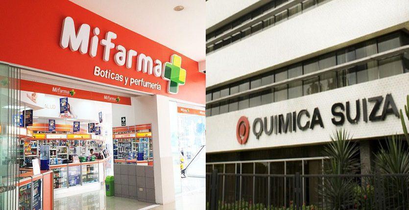 quimica suiza y mifarma - Quicorp niega rumores de venta de Química Suiza y Mifarma