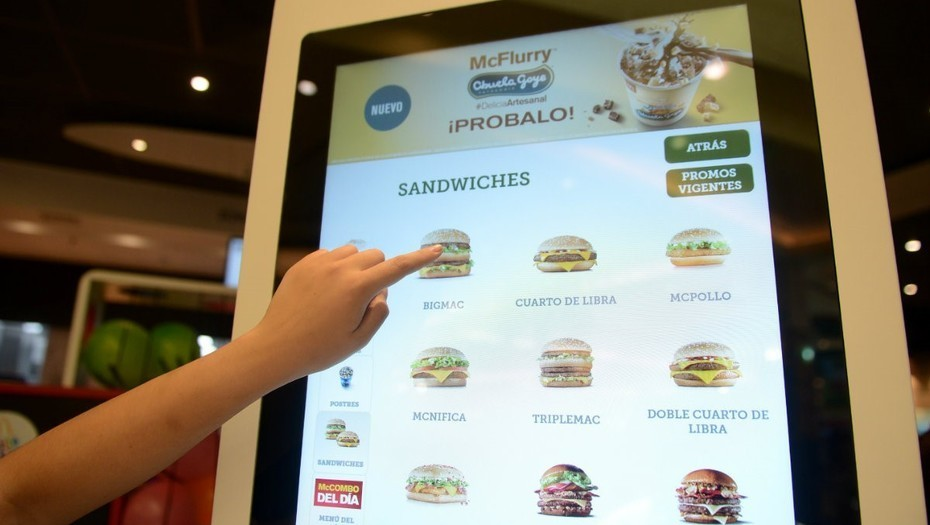 quiosco digital - McDonald's abriría primera sucursal digital en México a finales de 2018