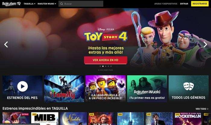 rakuten perú retail - Estas son las nuevas plataformas gratuitas que competirán con Netflix