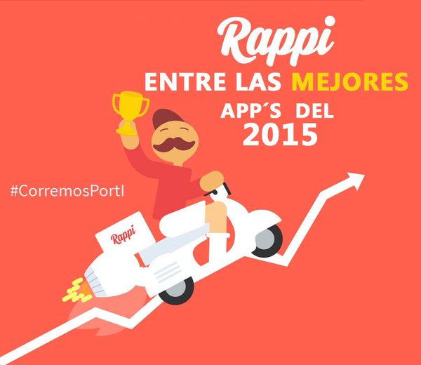 rappi app colombia 2015