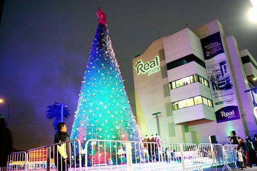 real plaza arbol navidad perú retail 1 - Real Plaza: Estas son todas las actividades por el encendido de árbol de Navidad