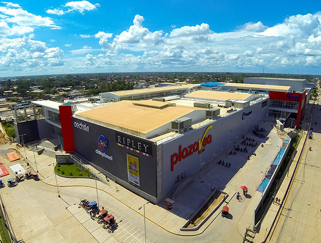 real plaza grande pucallpa - ¿Qué centros comerciales puedes visitar en Lima?