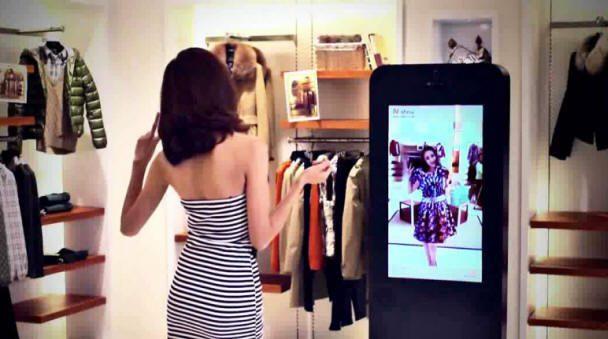 espejos inteligentes en el sector retail