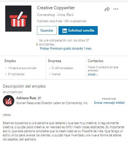 redactor creativo de cornershop - Cornershop alista su ingreso al mercado peruano