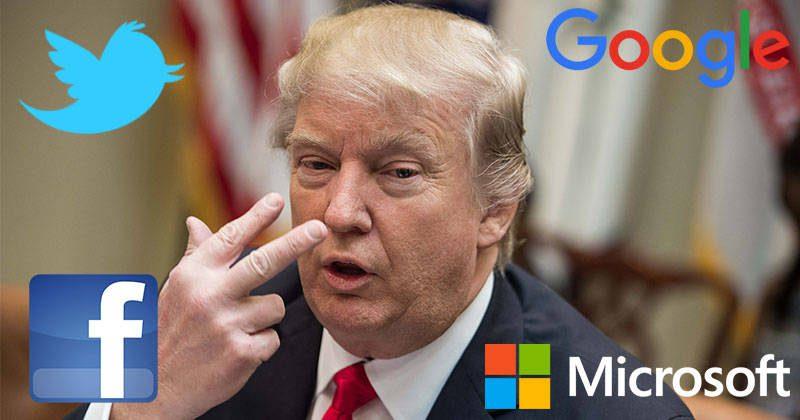 redes sociales contra donald trump - Retailers se enfrentan a Trump tras la salida de EE. UU. del pacto de París