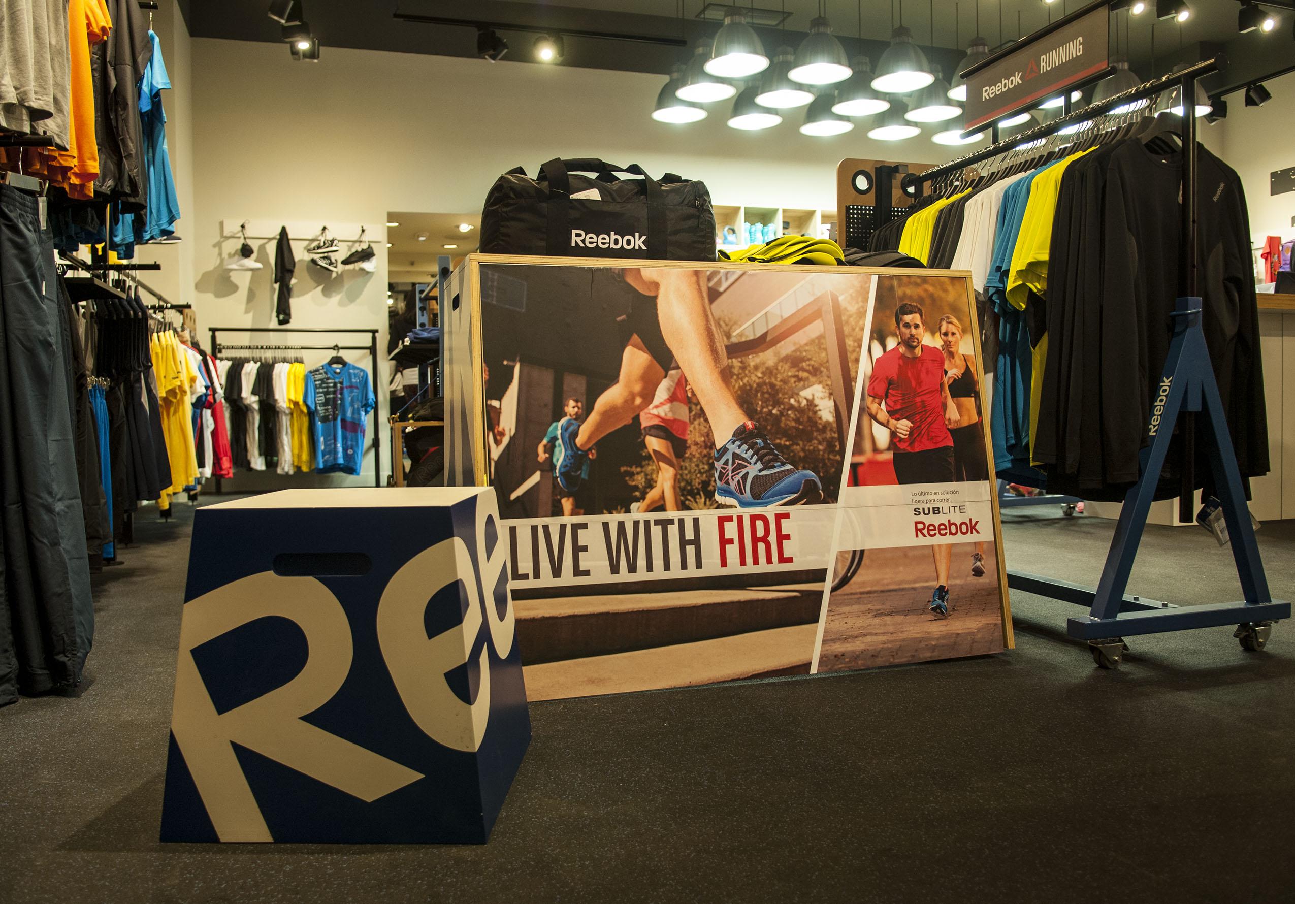reebok 621 - Reebok invertirá sus fichas para sumar 500 tiendas en China