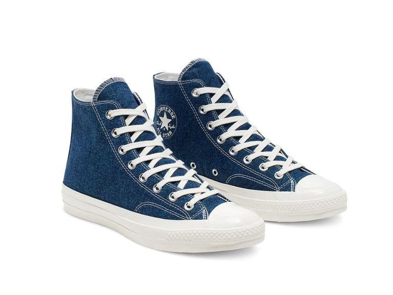 renew dark converse - Las nuevas zapatillas Converse están hechas de jeans reciclados