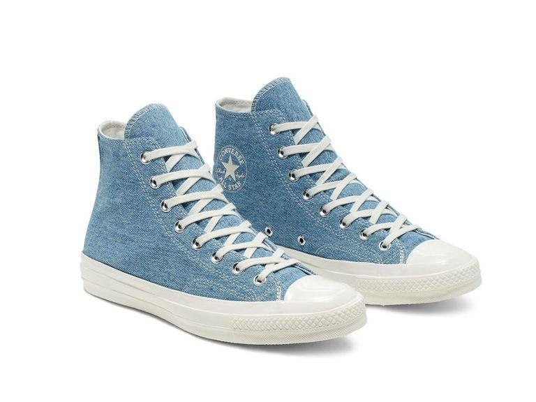 renew light converse - Las nuevas zapatillas Converse están hechas de jeans reciclados