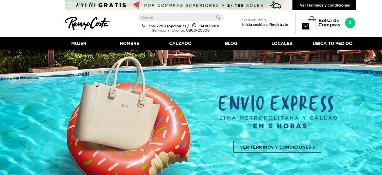 renzo costa 3 - Renzo Costa no abrirá tiendas este 2018, pero continúa reforzando su e-commerce