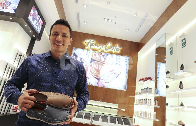 renzo costa trome1 - Renzo Costa planea tener 30 locales de calzado masculino al 2020