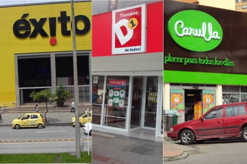 retailers colombianos