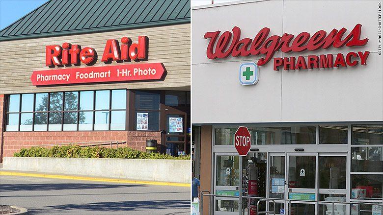 rite aid walgreens  - Walgreens se fusionaría con Rite Aid