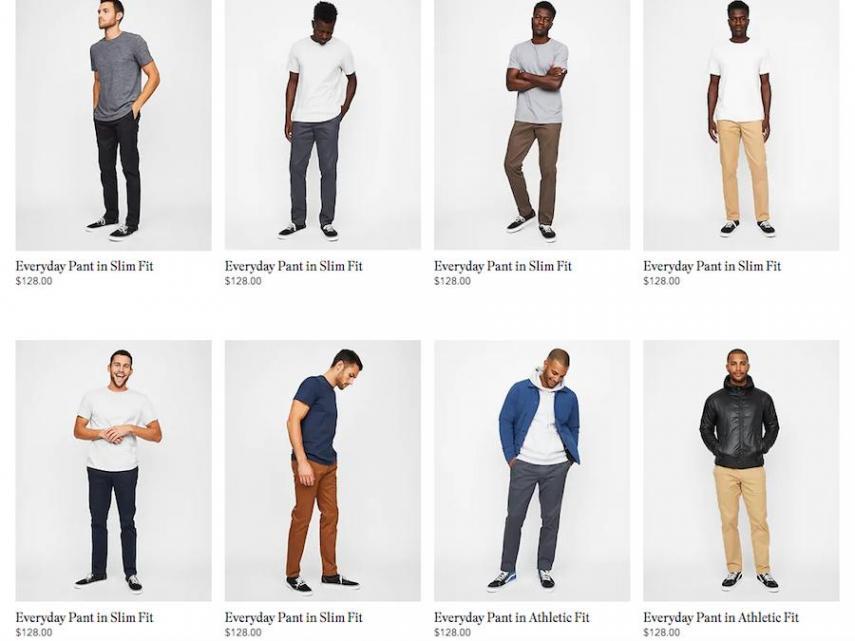 ropa varon gap - Gap, la marca con épocas doradas que ahora lucha por mantenerse a flote