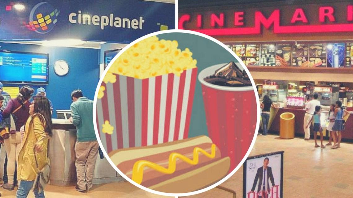 Pretenden anular ingreso de alimentos a salas de cines