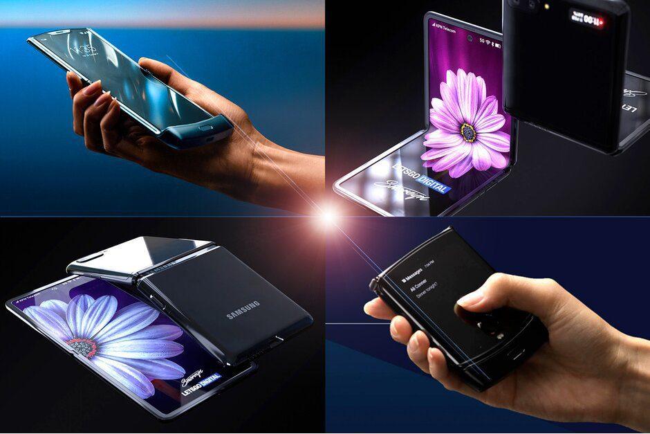 samsung 2 1 - Samsung apuesta por un smartphone plegable y cuadrado para impulsar ventas