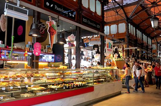 san miguel food hall - El auge de los food halls en los centros comerciales