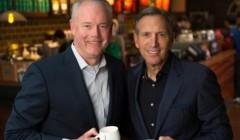schultz johnson starbucks 240x140 - Starbucks presenta a su nuevo CEO