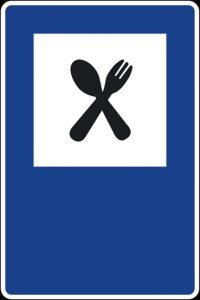 señaletica en restaurantes
