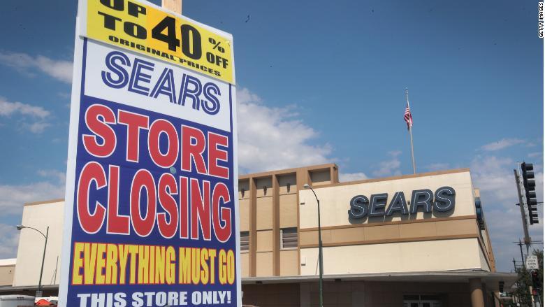 sears store closing 780x439 - Estados Unidos: Sears cerrará 72 tiendas más este año
